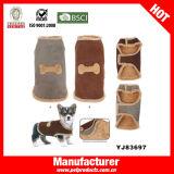 스웨드 겨울 개는 입는다 애완 동물 하네스 (YJ83697)를