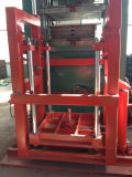 4 Camadas Forklift Tire Vulcanizing Press / Rubber Solid Tire Curing Press