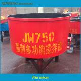 Type de carter machine de construction de mélangeur concret pour le petit chantier de construction