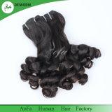 Het ruwe Indische Vrije Chemische product van het Haar, verwart Vrij, het Menselijke Haar van de Krul Fumi