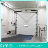 L'acciaio ambientale automatico industriale ha isolato lo scivolamento di sollevamento di verticale rotola in su il portello sezionale del garage del metallo per il magazzino o fabbrica o bacini o baie di caricamento