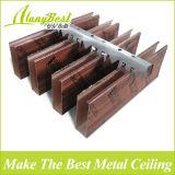 Projeto falso de madeira do teto do metal da alta qualidade