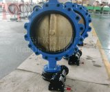 Thread Hole (D37L1X-10/16/150LB)のAPI609 Concentric Lug Butterfly Valve