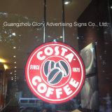 LED 커피 표시 LED 커피 Signage 광고