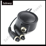 Cuffia avricolare tattica militare del microfono della gola di Fbi per il walkie-talkie