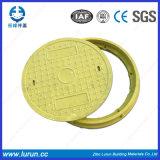 En124 A15 종류 D600 섬유유리 맨홀 뚜껑
