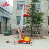 De enige Ladders van het Werkende Platform van de Legering van het Aluminium van de Mast Lucht Telescopische Lichtgewicht