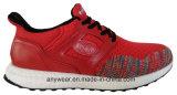 La gimnasia de hombres del calzado de Flyknit de la marca de fábrica de China se divierte los zapatos (816-5935)