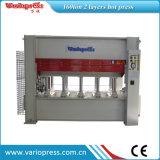 Machine chaude de presse de placage hydraulique pour des portes