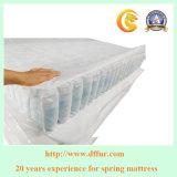 Alto registro del resorte de calidad superior del colchón resorte del bolsillo de 3 capas para el colchón