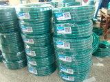 プラスチックPVC適用範囲が広いファイバーによって編まれる補強された水潅漑の管のホースのガーデン・ホース