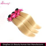 Пачки прямых волос человеческих волос 100% Unprocessed для белых женщин