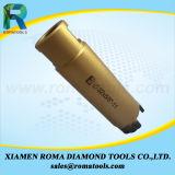 Núcleo de diamante Brocas para uso úmido ou seco de Pedra Use 1-1/14