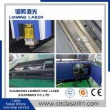 machine de découpage au laser à filtre en acier métallique LM2513G avec table unique