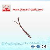 Cobre gêmeo isolado PVC padrão Electricelectricalcopper da torção UL1015