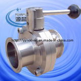Triclamp Sanitary Butterfly Valve (tipo di Long)