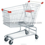 Americam様式240Lのスーパーマーケットのショッピングトロリーカート