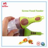 Alimentador Teether del alimento del silicón para el bebé