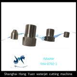 Testa d'attacco pura durevole dell'acqua del getto di acqua per la tagliatrice del getto di acqua di CNC