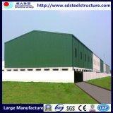 Estructura modular la producción de acero Trabajador de construcción de Camp