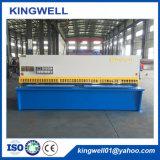 Machine à ciselure à rayons hydrauliques à plaques métalliques au meilleur prix (QC12Y-8X3200)