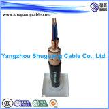 Обшитый провод Screened/PE Insulated/PVC Cu/кабель компьютера/аппаратуры