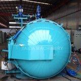 Melhor qualidade de fabricantes de plantas de fábrica do tanque de vulcanização da borracha Autoclave de vulcanização 1800x9000mm