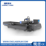 O metal conduz a máquina de estaca Lm3015am3 do laser da fibra com tabela da troca