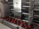 Machine de papier de cadre automatique de carton (se plissant et découpant avec des matrices)