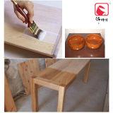 ガラス効果の木製のテーブルの上のニスのコーティング