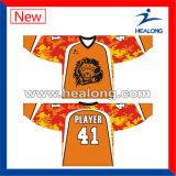 Китай Healong производителем одежды передачи цифровой печати подростков по хоккею форму
