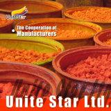 Disolvente de complejos metálicos Colorante Naranja disolvente (62) para las manchas de madera