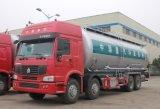 Sinotruk HOWO caminhão de tanque do cimento do volume de 40 toneladas