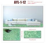 자연적인 Eco-Friendly 방수 PVC 비닐 마루 대리석 보기
