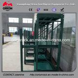 Cremalheira industrial de aço de laminação da prateleira do fluxo da corrediça