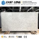 Brames de marbre à haute teneur de pierre de quartz de couleur d'Aartificial pour des partie supérieure du comptoir/panneaux de mur/dessus de vanité