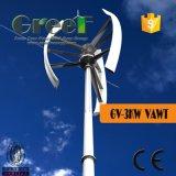 小さい縦の風力! 屋根取付けられた縦の風発電機、国内縦の軸線の風発電機