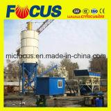 Heiße kleine konkrete Mischanlage des Verkaufs-25m3/H, steigende Zufuhrbehälter-konkrete stapelweise verarbeitende Pflanze