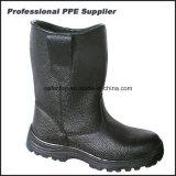 Дешевая обувь техники безопасности на производстве доказательства воды неподдельной кожи
