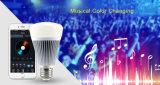 bulbo do diodo emissor de luz de 8W Bluetooth RGB+CCT