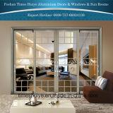 puertas deslizantes resistentes de aluminio del espesor de pared de 1.6mm~3.0m m