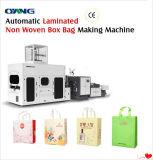 Máquina de fabricação de sacos de caixa não fabricada Leader