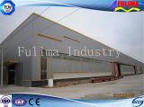 Taller prefabricado industrial de la estructura de acero del edificio