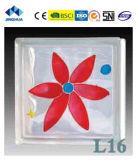 Высокое качество Jinghua художественных L-16 Окраска стекла блок/кирпича