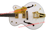 Afanti Music Guitarra elétrica de corpo oco oco (AGT-344)