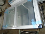 Congélateur plat SD/Sc-230 d'affichage de coffre de porte en verre de glissement