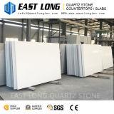 Surface Polished blanche de pierre de quartz de fine particule chaude de vente pour des partie supérieure du comptoir de cuisine