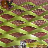 Покрынный порошком расширенный лист металла для декоративной стены