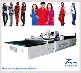 Installation automatique automatisée à grande vitesse de découpage de tissu de Tmcc/de machine découpage de tissu pour le coupeur de véhicule de Carmat/de couteau de vibration