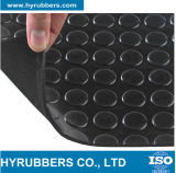 Antibeleg-wasserdichte Diamant-runde Tasten-gewellte Checkered Gummiblätter